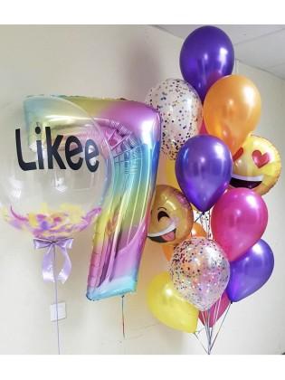 """Гелиевые шарики """"Likee"""""""